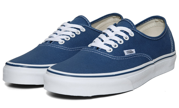 vans blue authentic